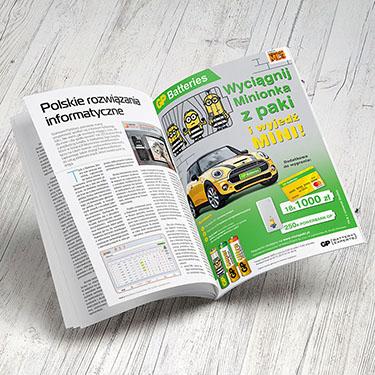 GP Batteries - promocja BTL digital